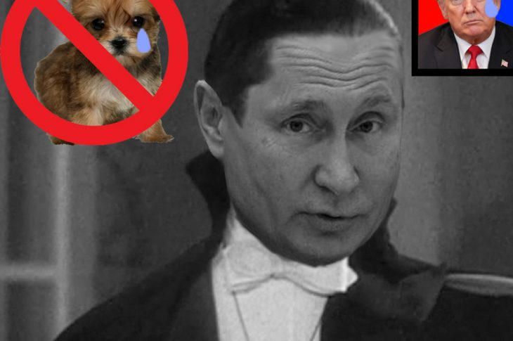 Vlad Lugosi BANS ALL PUPPIES
